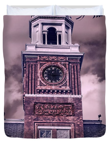 Warwick City Hall Duvet Cover by Lourry Legarde