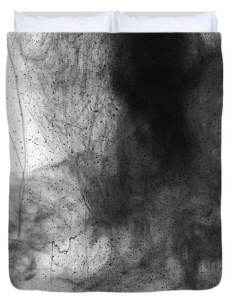 Water Dust Duvet Cover by Sumit Mehndiratta