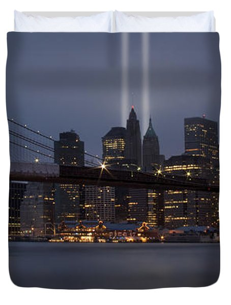 We Will Never Forget Duvet Cover by Susan Candelario