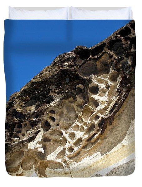 Weathered Sandstone Duvet Cover by Kaye Menner