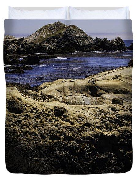 Weathering The Sea Duvet Cover by Jo-Anne Gazo-McKim