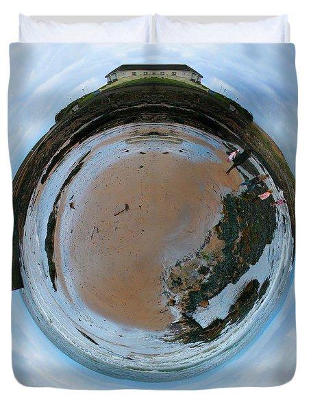 Wee Rossnowlagh Beach Duvet Cover by Nikki Marie Smith