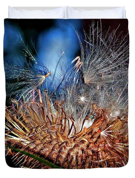 Weed Orgy Buzzed Duvet Cover by Steve Harrington