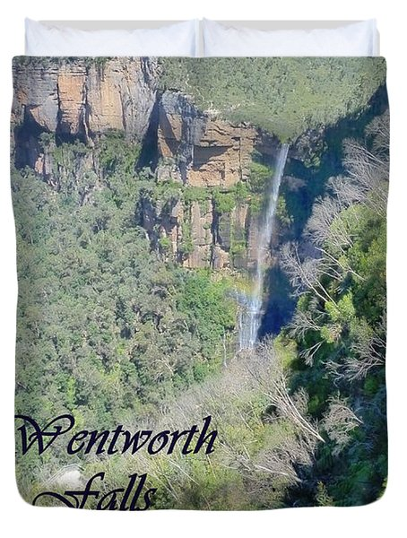 Wentworth Falls Duvet Cover by Carla Parris