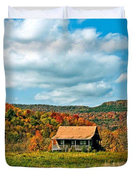 West Virginia Homestead Duvet Cover by Steve Harrington