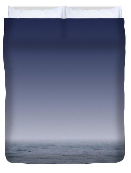 Whales Fluke Duvet Cover by Darren Greenwood
