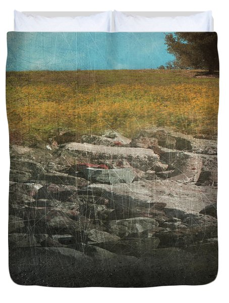 What Lies Below Duvet Cover by Laurie Search