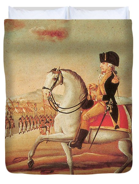 Whiskey Rebellion, 1794 Duvet Cover by Photo Researchers