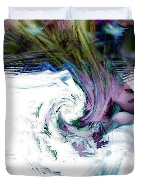 Why Duvet Cover by Linda Sannuti