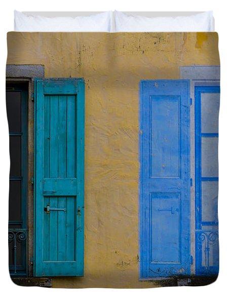 Windows Duvet Cover by Debra and Dave Vanderlaan