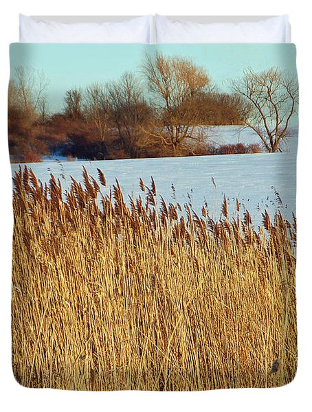 Winter Breeze Duvet Cover by Aimee L Maher Photography and Art