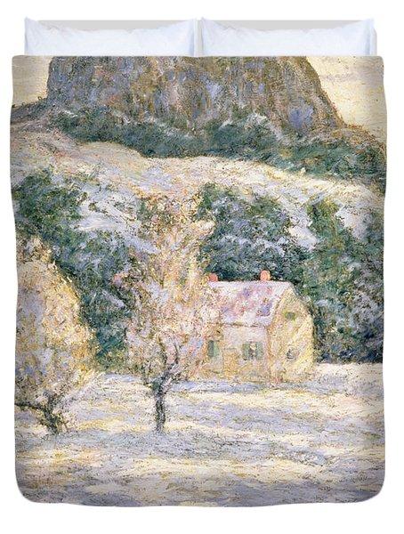 Winter Duvet Cover by Ernest Lawson