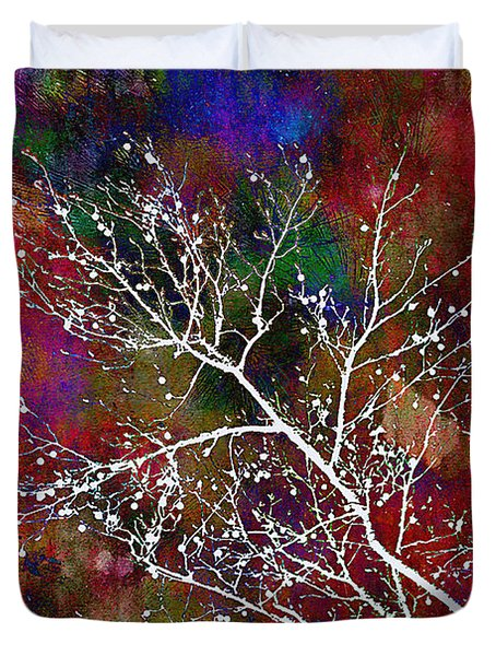Winter Wishes Duvet Cover by Judi Bagwell