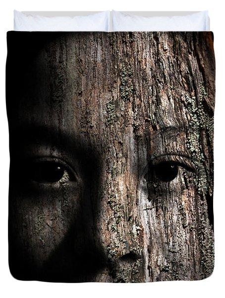 Woodland Spirit Duvet Cover by Christopher Gaston