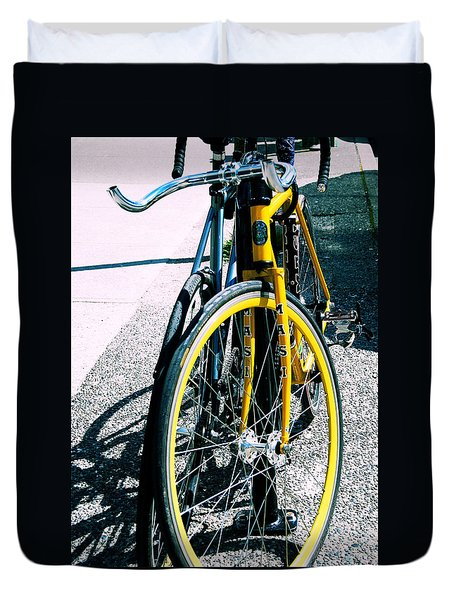 Worldly Cycle Duvet Cover by JAMART Photography