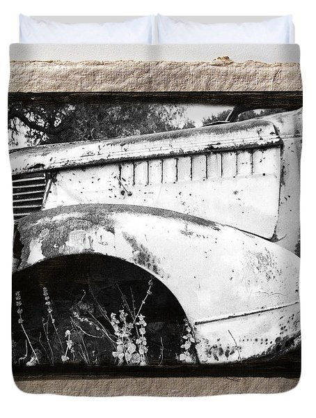 Wreck 2 Duvet Cover by Mauro Celotti