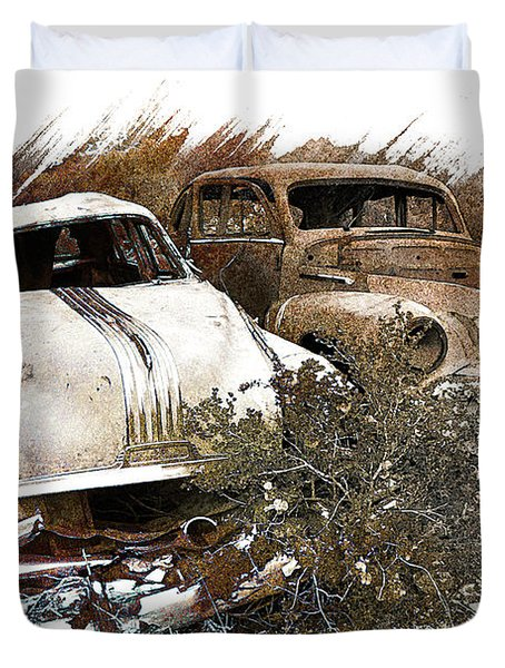 Wreck 3 Duvet Cover by Mauro Celotti
