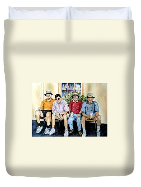 Wwii Heroes Duvet Cover by Candy Yu