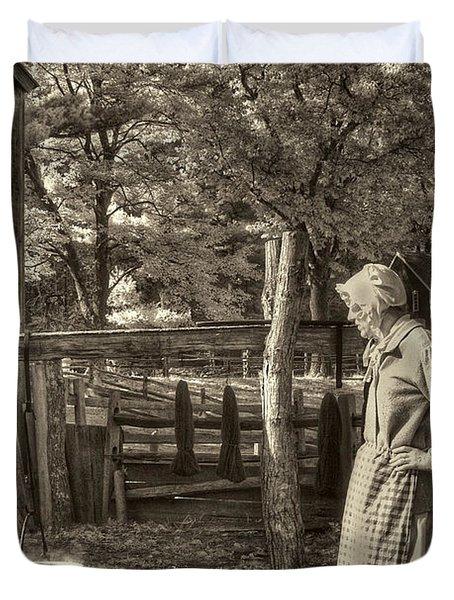 Yarn Dyeing Duvet Cover by Joann Vitali