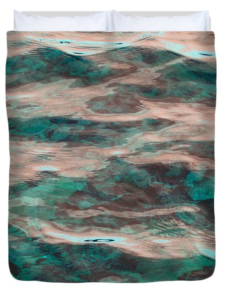 Yellowstone Abstract Duvet Cover by Cindy Lee Longhini