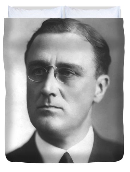 Young Franklin Delano Roosevelt Duvet Cover by War Is Hell Store