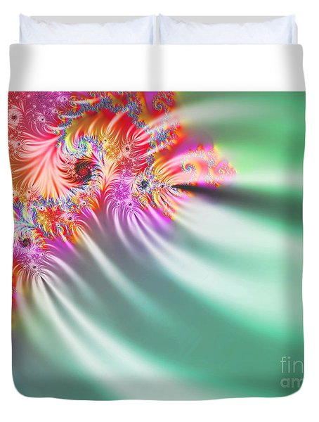 Aurora Color Dreams Duvet Cover by Stefano Senise