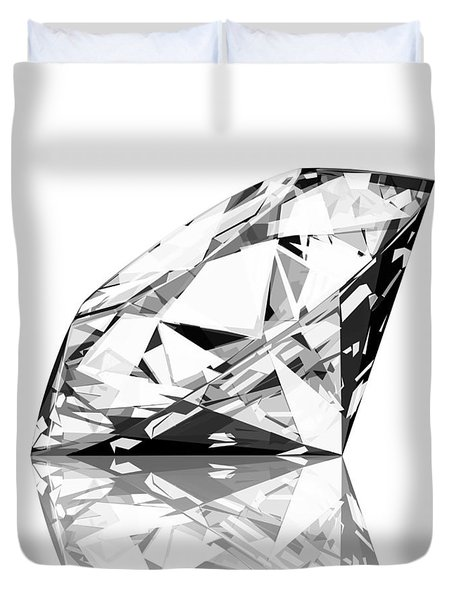 diamond Duvet Cover by Setsiri Silapasuwanchai