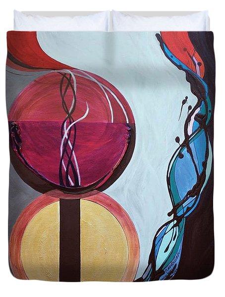 Havdallah...separation Duvet Cover by Marlene Burns