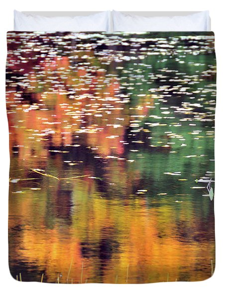 New England Reflections Duvet Cover by Betty LaRue
