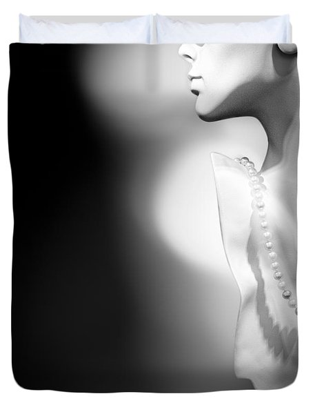 Nod and A Whisper Duvet Cover by Bob Orsillo
