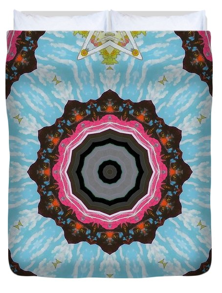 Abstract 2 Duvet Cover by Jeff Kolker