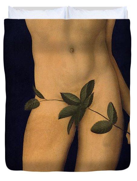 Adam Duvet Cover by The Elder Lucas Cranach