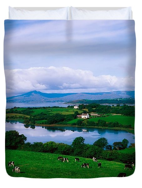 Bantry Bay, Co Cork, Ireland Duvet Cover by The Irish Image Collection