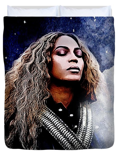 Beyonce  Duvet Cover by The DigArtisT