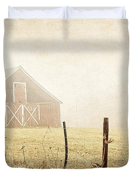 Blue Ridge Farm Duvet Cover by Darren Fisher
