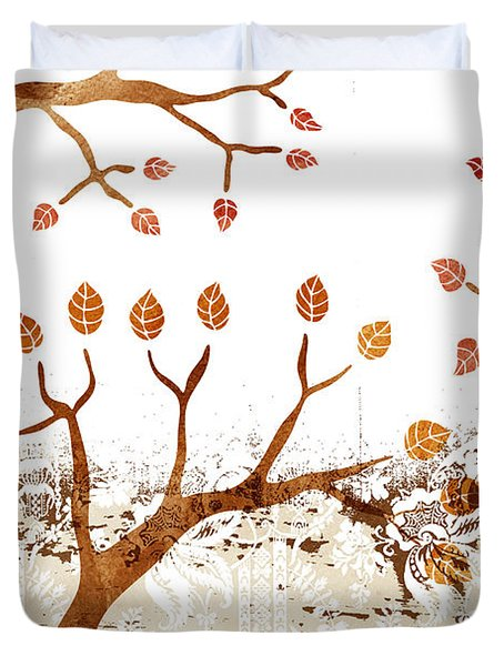 Branches Duvet Cover by Frank Tschakert