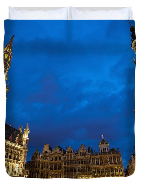 Brussels, Belgium Duvet Cover by Axiom Photographic