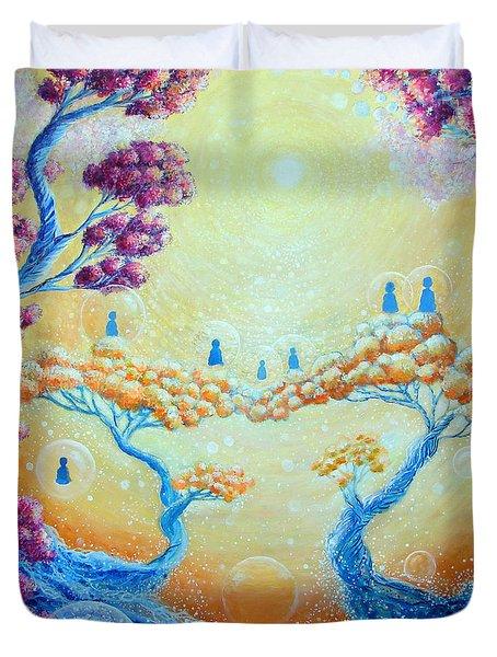 Children of Light Duvet Cover by Ashleigh Dyan Bayer