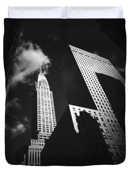 Chrysler Building - New York City Duvet Cover by Vivienne Gucwa