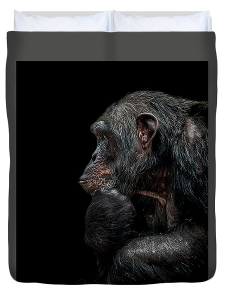 Contemplation  Duvet Cover by Paul Neville