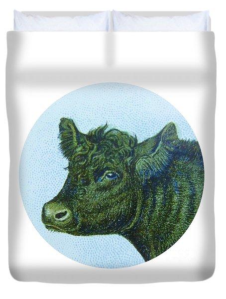 Cow I Duvet Cover by Desiree Warren