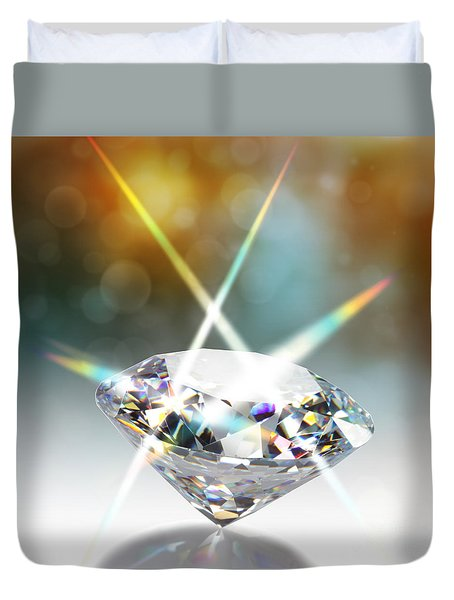 Diamond Duvet Cover by ATIKETTA SANGASAENG