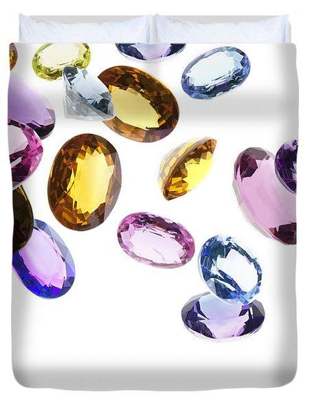 falling gems Duvet Cover by Setsiri Silapasuwanchai