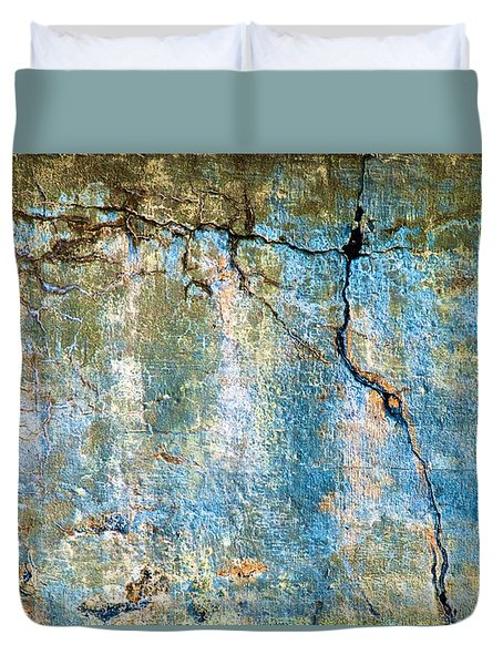 Foundation Four Duvet Cover by Bob Orsillo