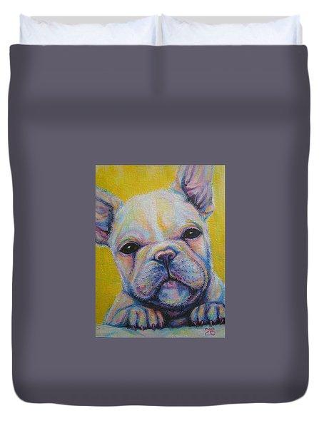 French Bulldog Duvet Cover by Jack No War