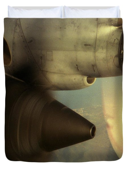 Intake No.2 Duvet Cover by Sean Cupp