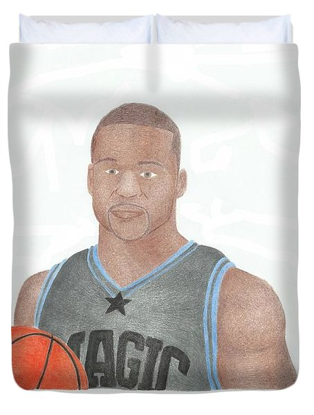 Jameer Nelson Duvet Cover by Toni Jaso