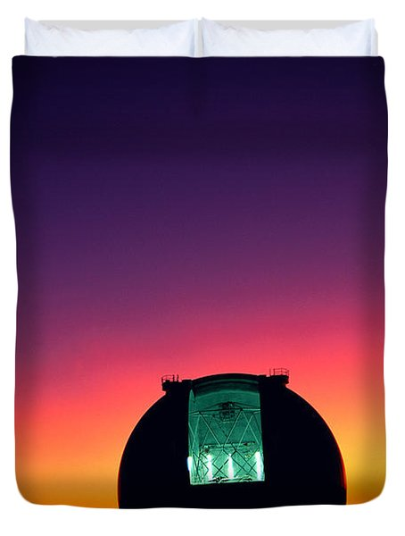 Keck Observatory Duvet Cover by Peter French - Printscapes