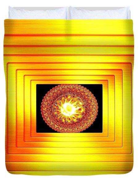 Luminous Energy 7 Duvet Cover by Will Borden
