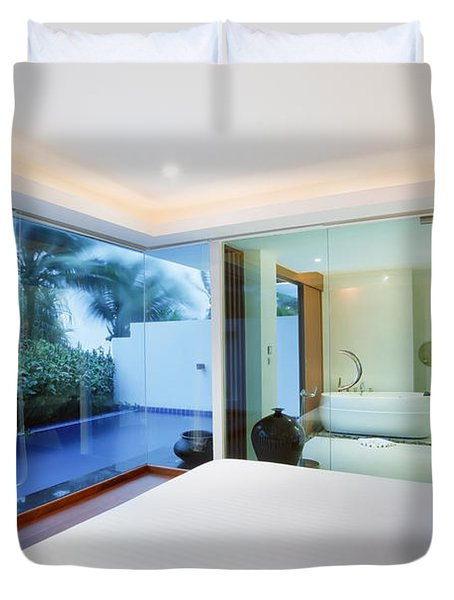 Luxury Bedroom Duvet Cover by Setsiri Silapasuwanchai